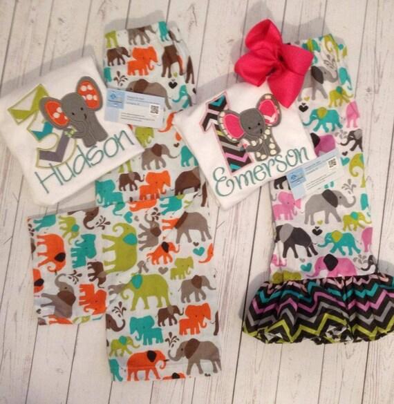 Elephant Theme 3rd Birthday Party: Elephant Birthday Theme Outfit