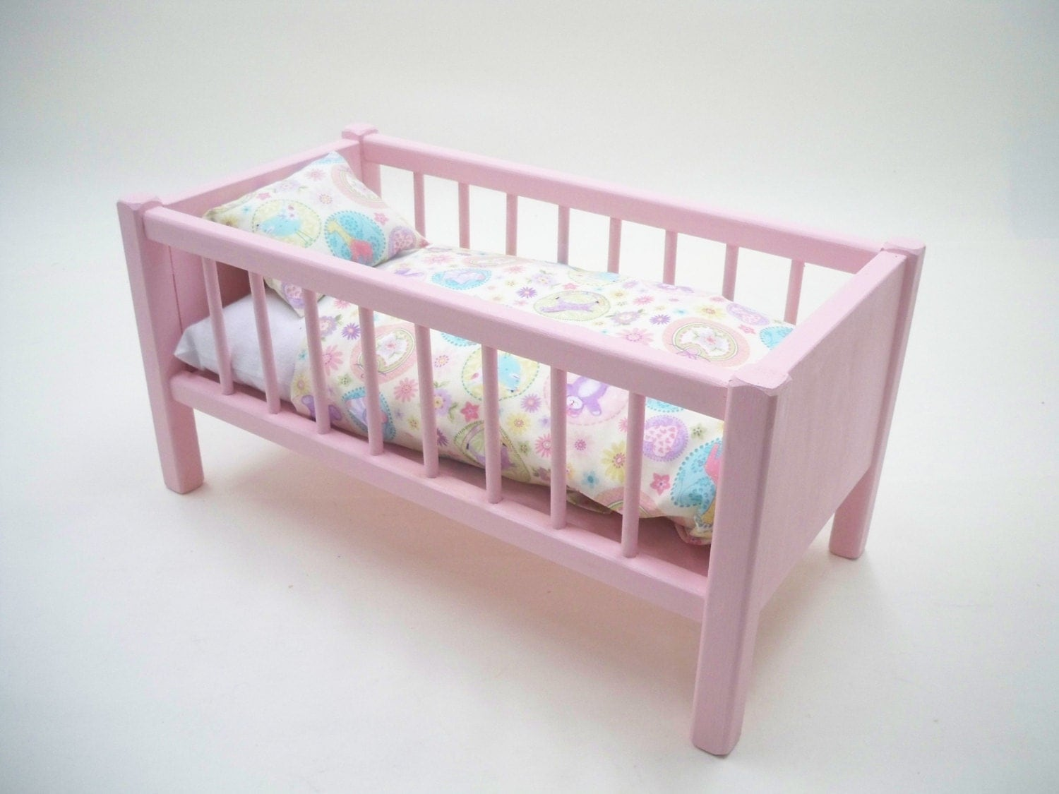 Wooden crib for babies - Wood Doll Bed Doll Bed American Doll Bed Doll Crib Girls Toy 18inch Doll Bed Baby Doll Crib Baby Doll Bed