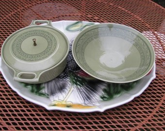 Taylor Smith and Taylor Oasis Olive Casserole Serving Bowl