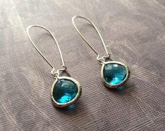 Montana Blue Drop Earrings