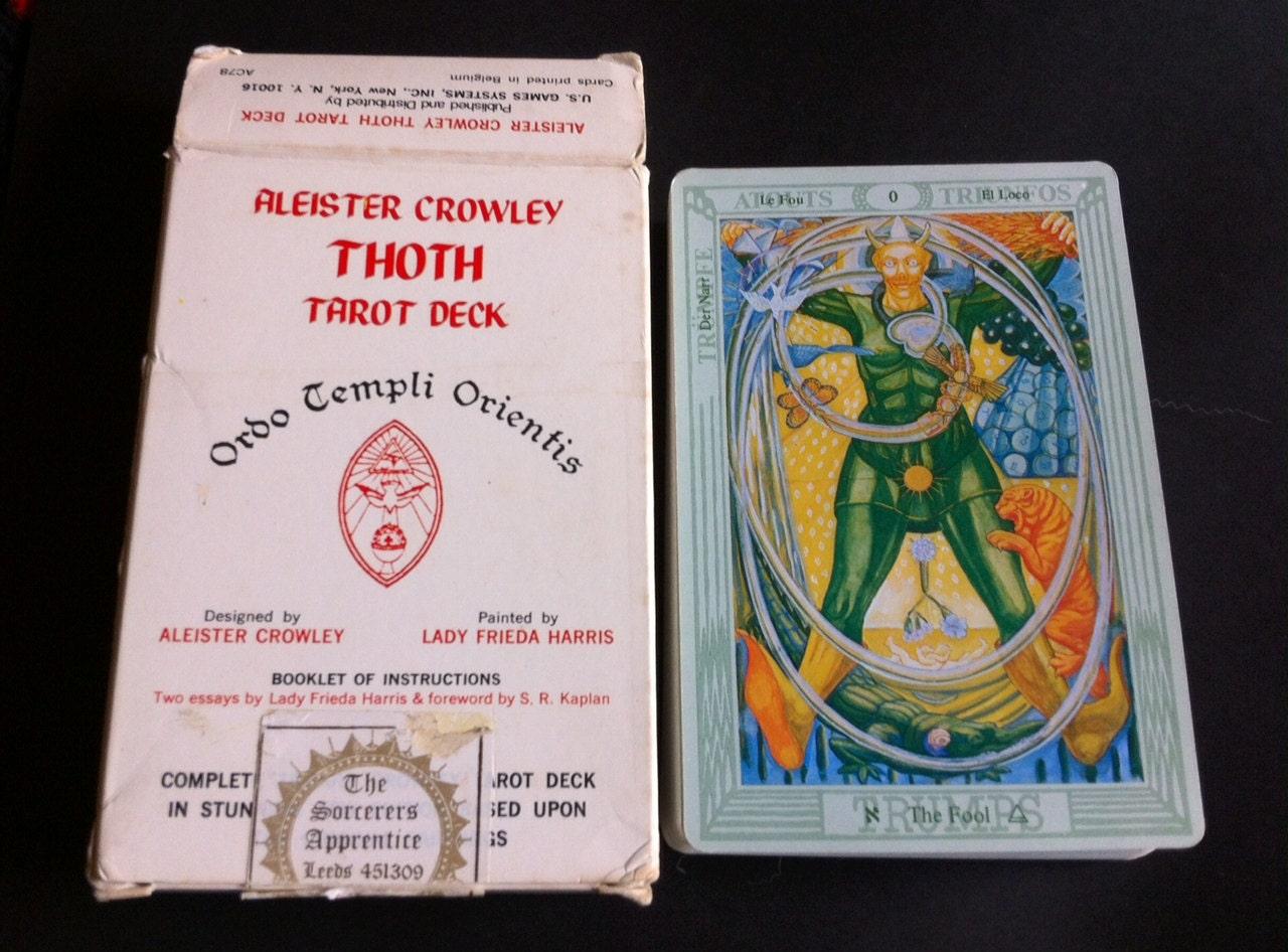 thoth tarot deck instructions