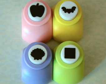 A Paper Punch (Pick 1) - Apple, Bat, Shell, Or Square