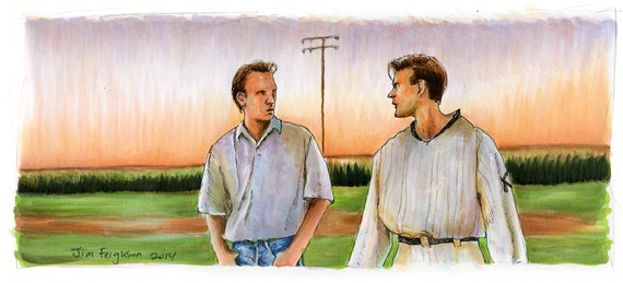 Field of Dreams - Is this Heaven Poster Print