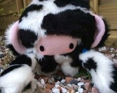 Plush Cow Doll: Little Moo-Moo Cow Plush