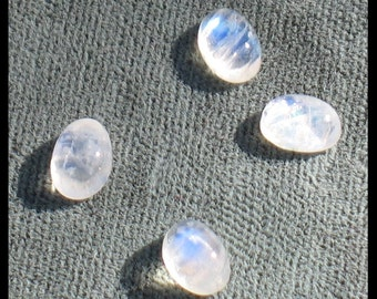 Rainbow Moonstone 5mm x 7mm