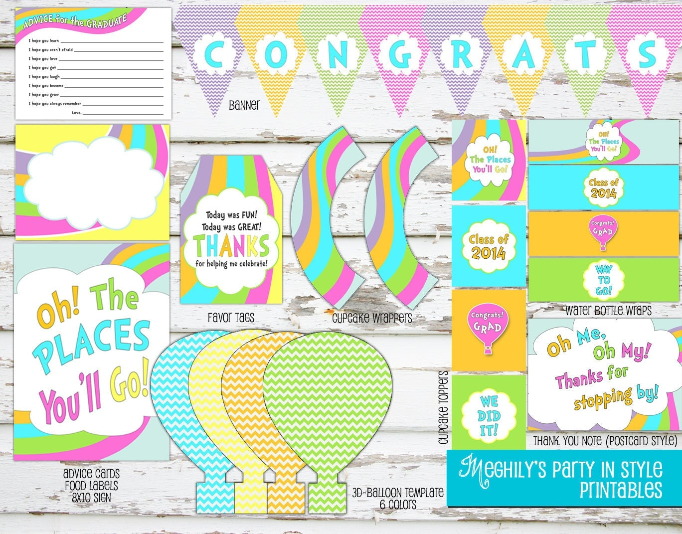 Obsessed image pertaining to oh the places you'll go printable