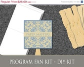 Do-it-Yourself Event Fan Kit - Set of 50