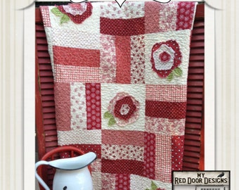 Whimsy Flowers  PDF quilt pattern