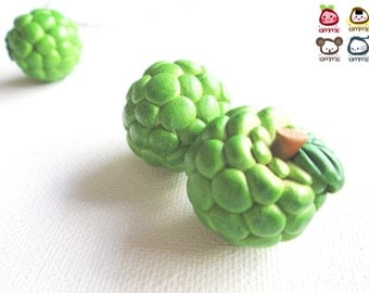 Miniature Custard Apple, custard apples, Ceramic Vegetables, ceramic fruits, food figurine, miniature food, mini vegetables, dollhouse, tiny