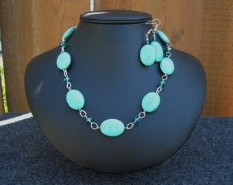 Turquiose Necklace Set