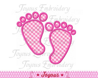 Instant Download Baby Footprint Applique Machine Embroidery Design NO:1515