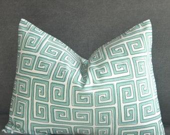 Pillow Cover,Decorative Pillow,Throw Pillow,Toss Pillow,Accent Pillow,Lumbar Pillow,Sofa Pillow,Greek Key,Home Furnishing, Home Decor