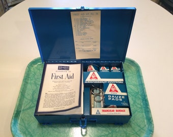 NOS 1966 Reader's Digest First Aid Kit by Acme