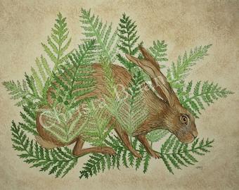 "Print - ""Rabbit's Foot"""