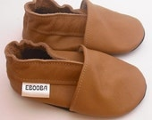 soft sole baby shoes leather infant kids gift brown 18 24 ebooba