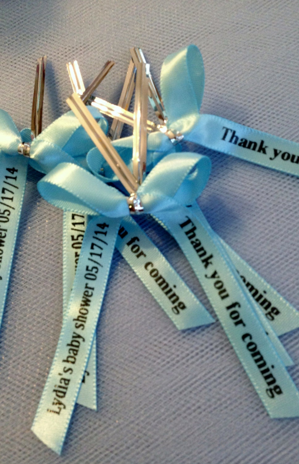Baby Shower Favors Personalized Ribbons ~ Personalized ribbon for party favors baby shower