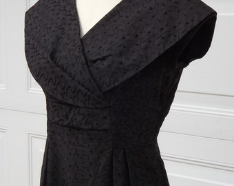 Union Made Vintage Original 1960's Little Black Dress