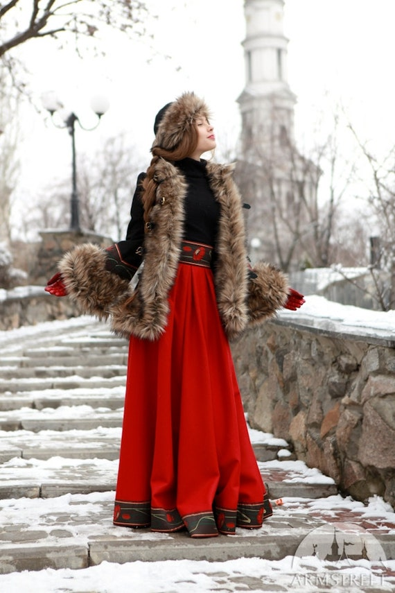 Russian Clothing For Women 2014 12% DISCOUNT Short Fur...