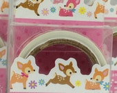 Bambi Japanese Die Cut Washi Tape Masking Tape Paper Tape (MDT01-04)