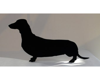 Sausage Dog / Dachshund Shaped Blackboard / Chalkboard