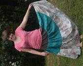 Gypsy Skirt, Bohemian Skirt, Hippie Skirt, Tribal Skirt, Ethnic Skirt, Plus Size Skirt, Belly Dance Skirt, Patchwork Skirt, Festival Skirt