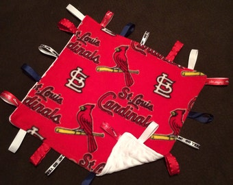 Red Cardinals lovie security blankie