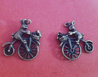 10pcs  21x22mm  bear charm --Antique bronze pendant  Jewelry Findings