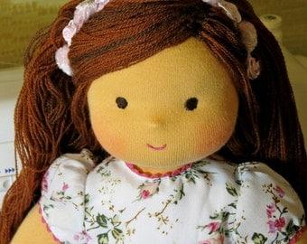 "Waldorf doll - ""Princess"" -15 inches, doll custom"