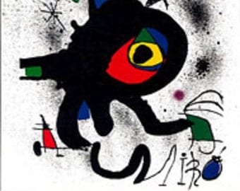 Book, Miro Lithographs, Vol 5, Catalog Raisonnee, 1992, English text.