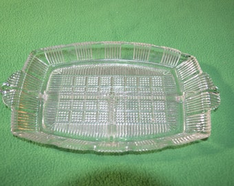 ON SALE  Vintage Serving Dish with 3 Sections