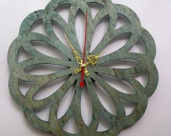 Clocks of plywood, decorative object