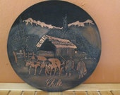 Decorative Copper Plate-Chile