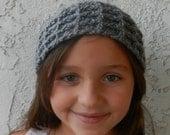 Waffle stitch headband