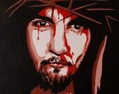 Original Acrylic Painting of Jesus