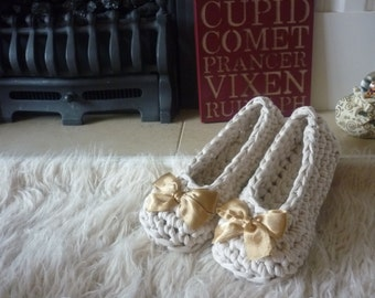 Quick Slippers: A Crochet PDF Pattern