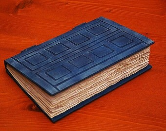 SALES! Dr Who Tardis/River Song's Journal Book -100 BLANK pages (200 back and forth)