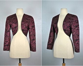 Vintage Saks Fifth Avenue Jacket, Liancarlo, Vintage Cropped Jacket