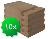 10 pack original friendly wooden ipad stands