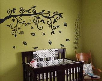 Tree Branch Wall Art branch wall art | etsy
