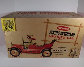 1960's Remco Flying Dutchman Car and Box set
