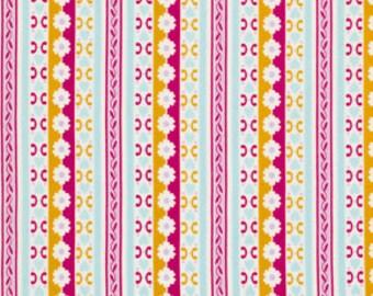 SALE Circa Bradlee - Jennifer Paganelli - Free Spirit Fabrics - Rose - Half Yard