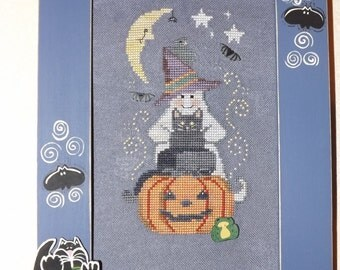 Halloween short stack - hand counted point embroidery