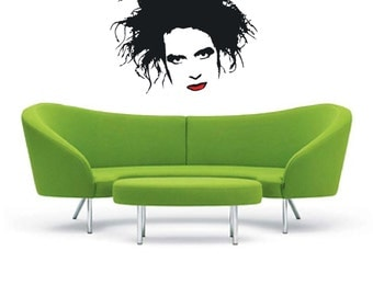 The Cure Portrait - Wall Art Stickers