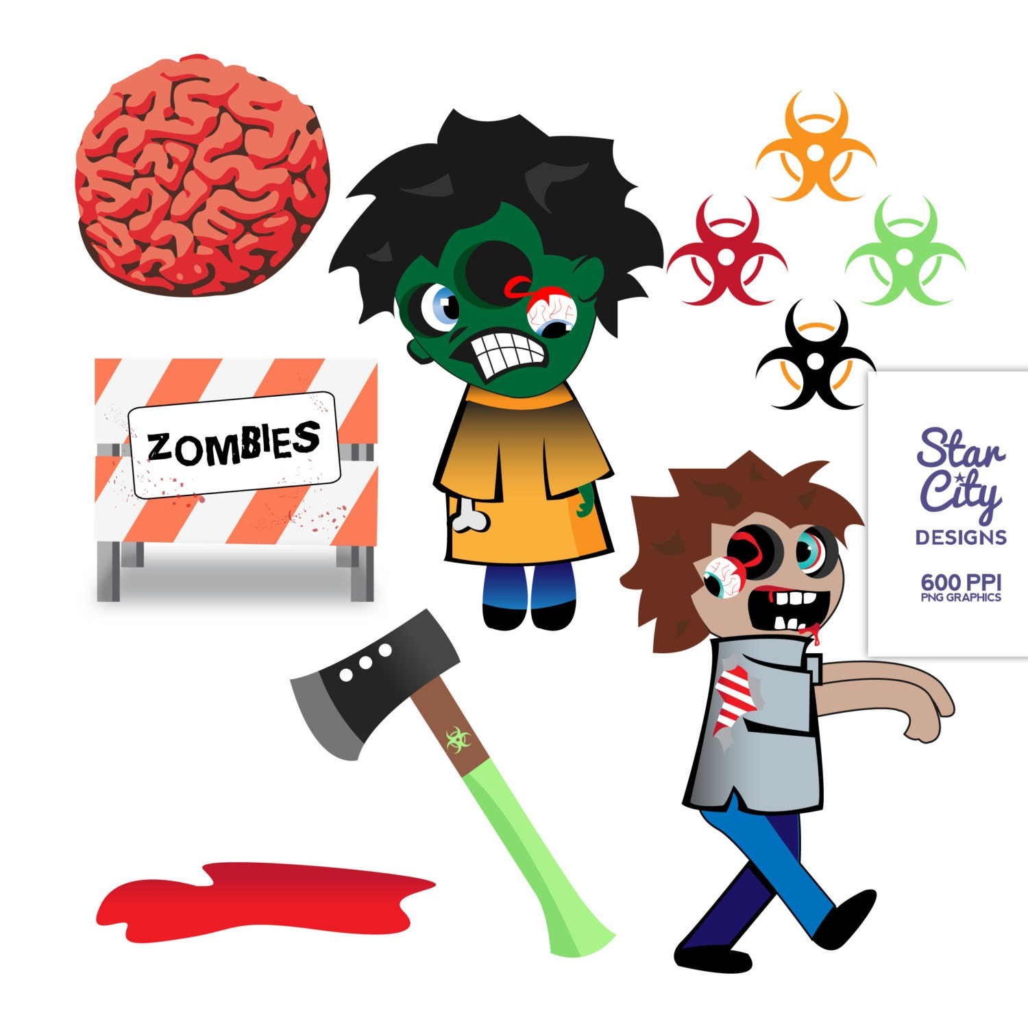 zombies clipart - photo #42