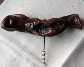 Authentic Vintage French grapevine corkscrew