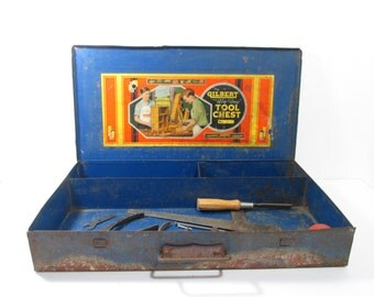 Blue Metal Tool Chest Gilbert Big Boy