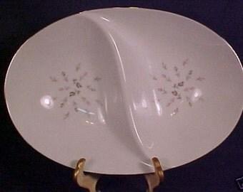 MT Sango Petite Bouquet patt. Divided Serving Bowl