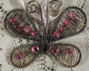 Decorative Metal Butterfly