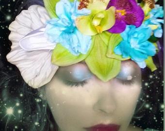 Festival fairy flapper flower crown!