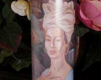 Marie Laveau, Fixed, Voodoo, Hoodoo, Candle, Conjure, Altar, Wiccan, Pagan,